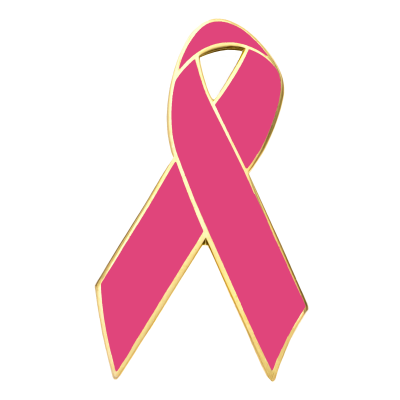 Breast Cancer Awareness Ribbon Pins